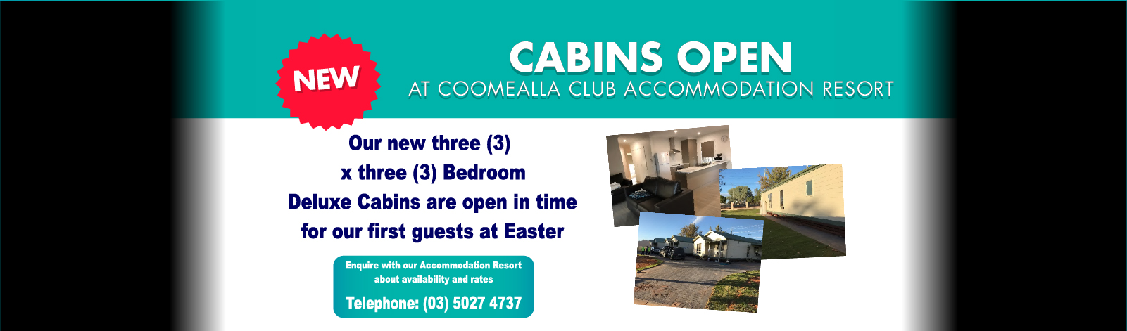 Cabins offer 1